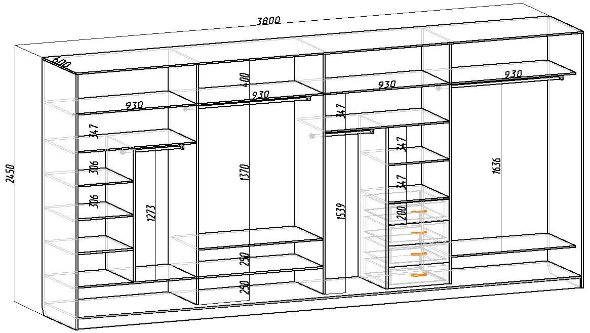 Шкаф-купе своими руками в домашних условиях