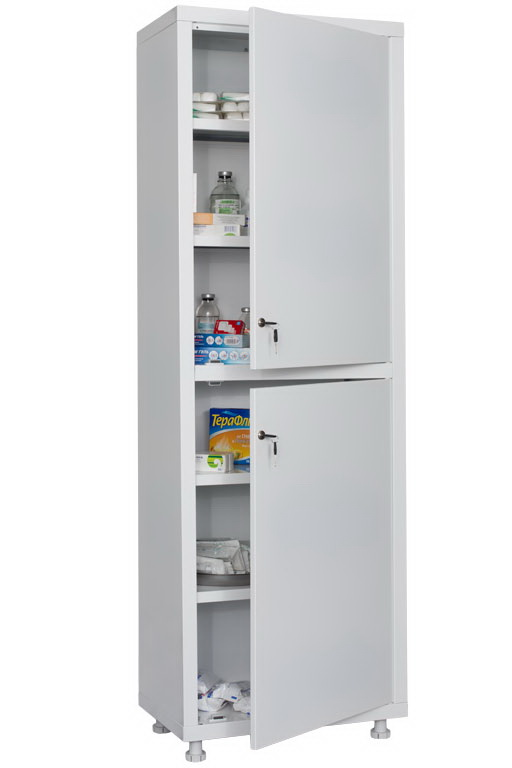 Шкаф медицинский металлический