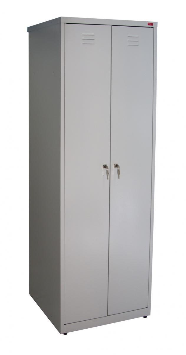 Шкаф металлический разборный двухсекционный