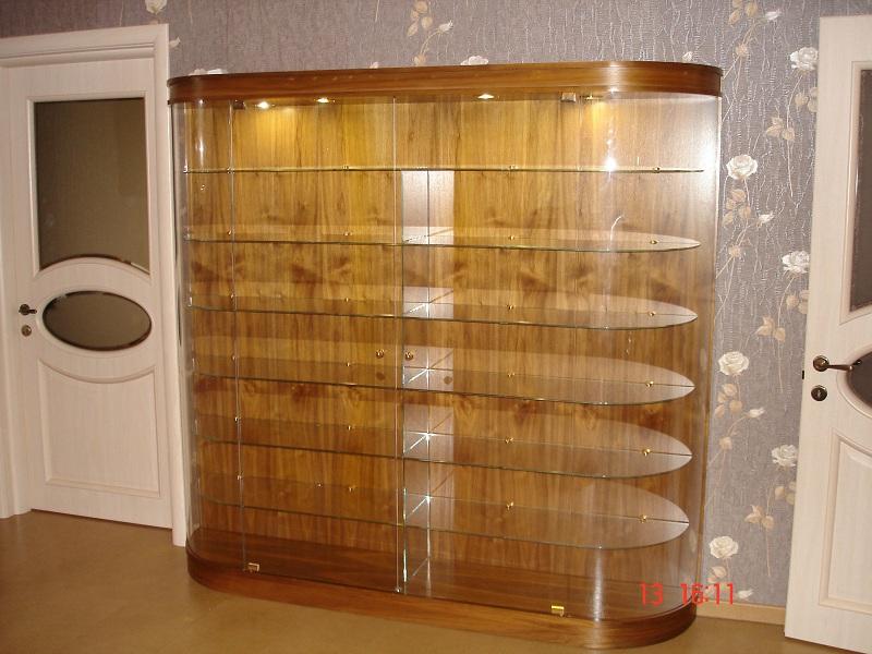 Шкаф на основе стекла