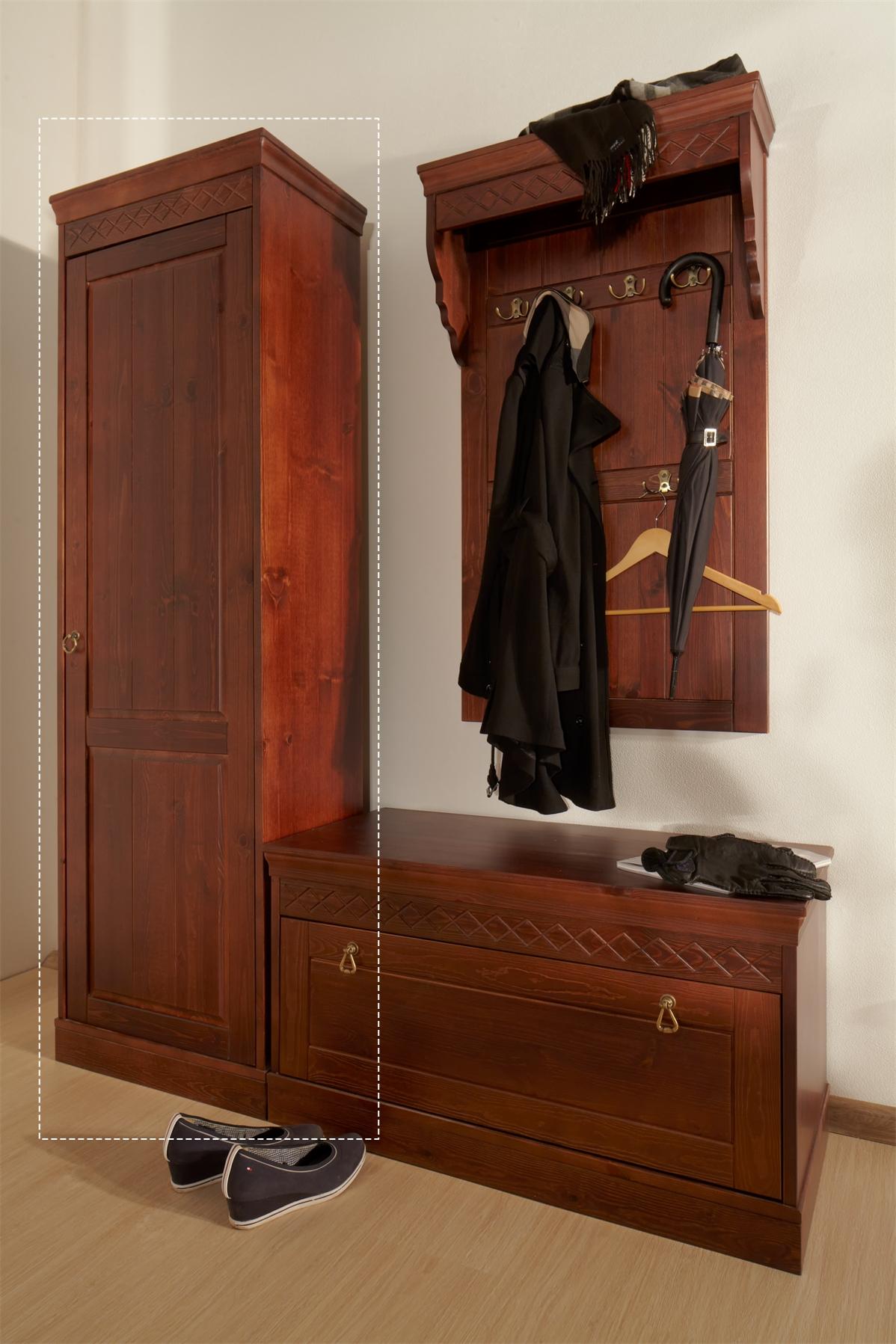 Шкаф одностворчатый для прихожей