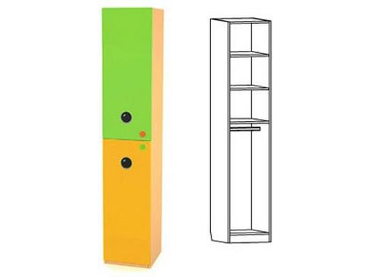 Шкаф-пенал комбинированный