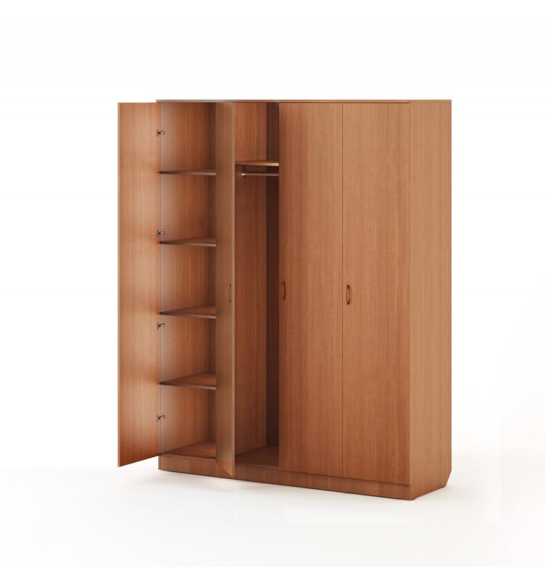 Шкаф распашной 4-х створчатый