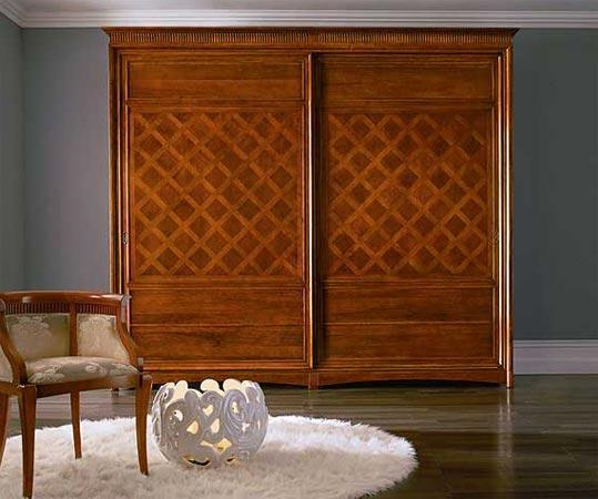 Шкаф с 2 раздвижными створками