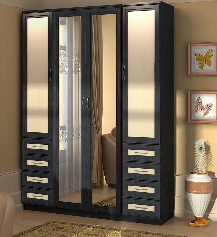Шкаф с 4 дверьми