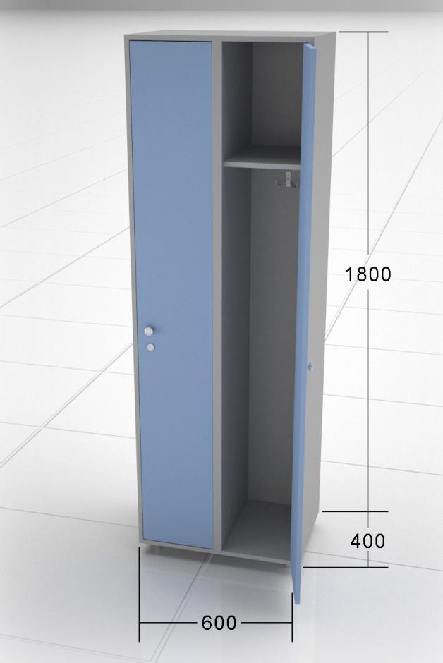 Шкаф в раздевалку