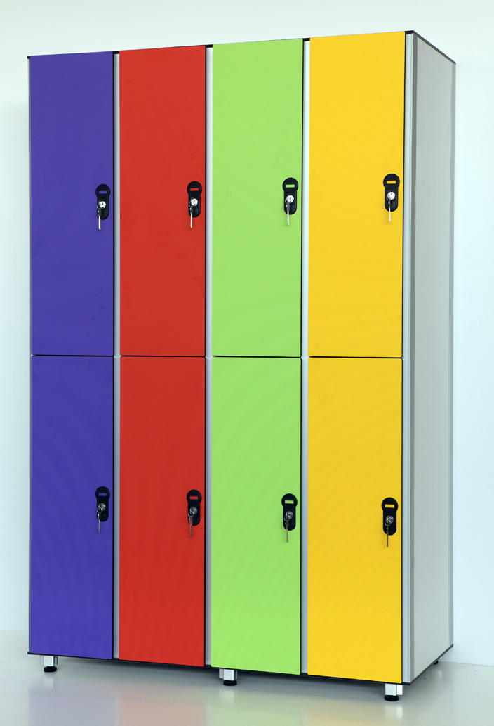Шкафчики для бассейнов и спортзалов