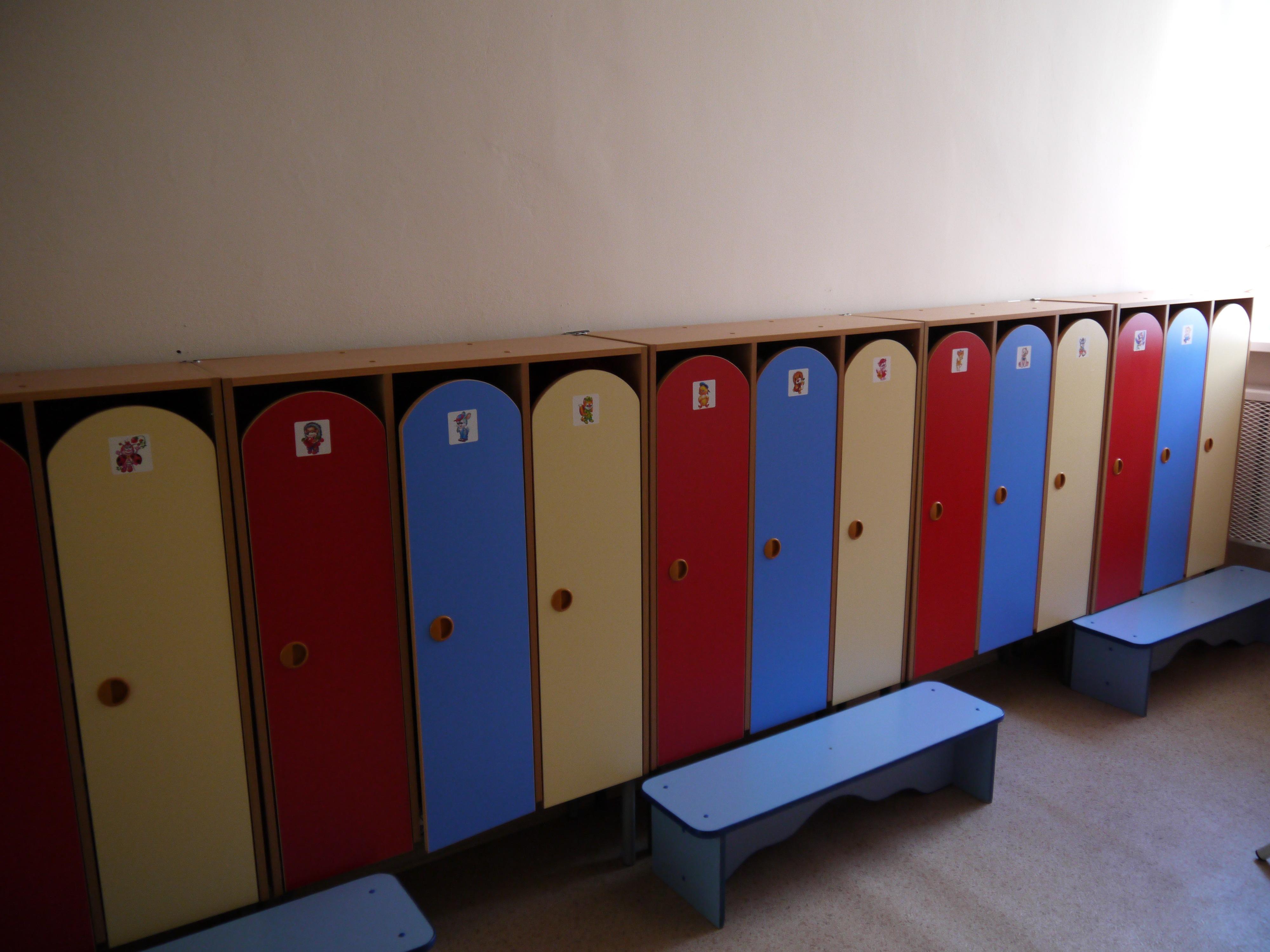 Шкафчики для детского сада