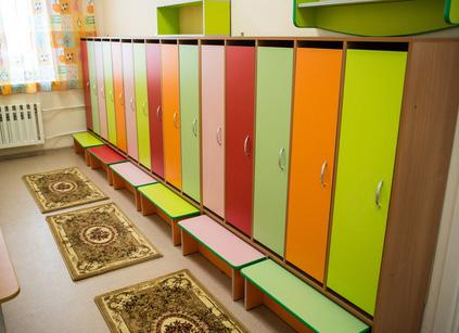 Шкафчики для раздевалок детского сада