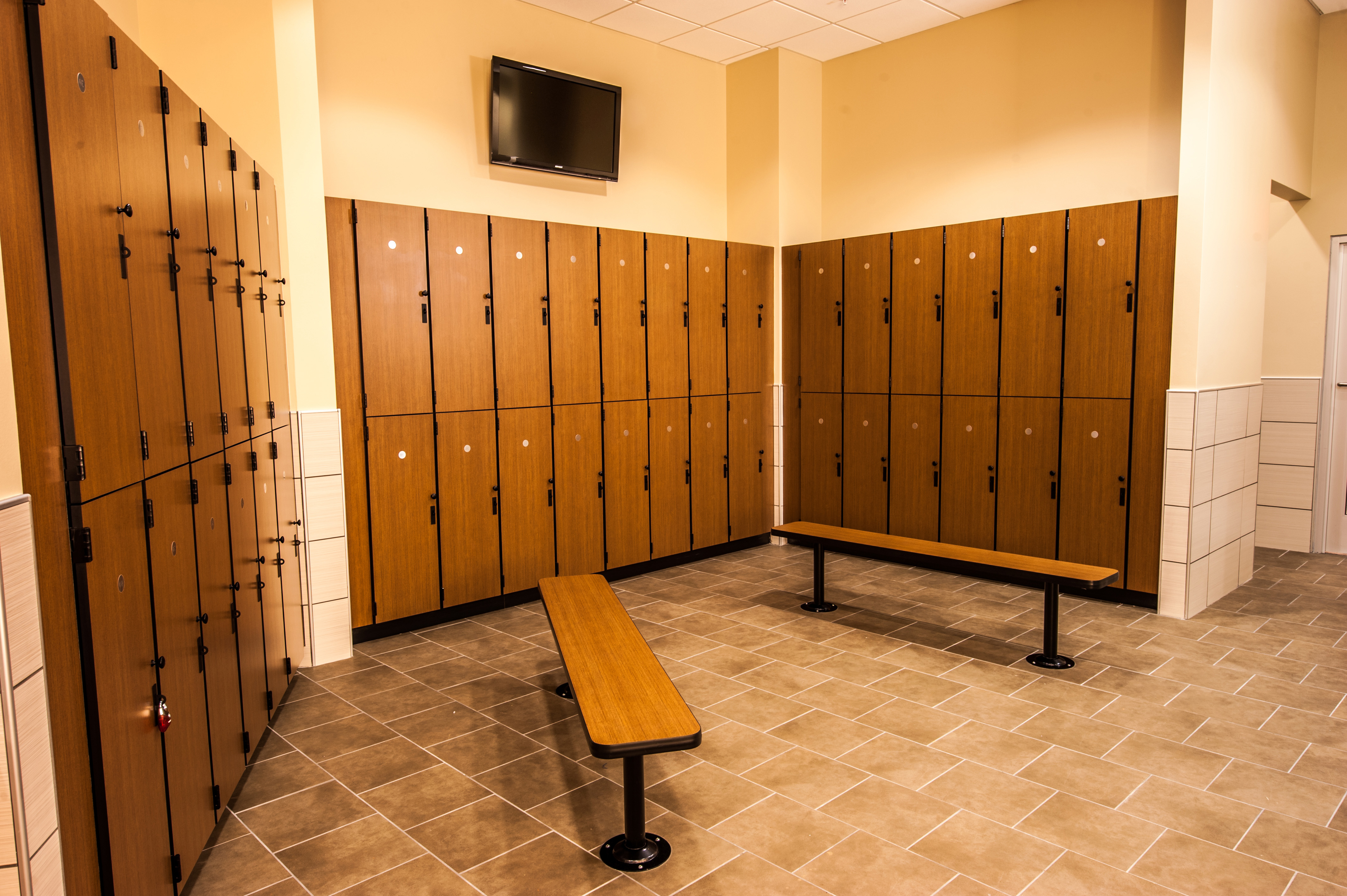 Шкафчики для раздевалок