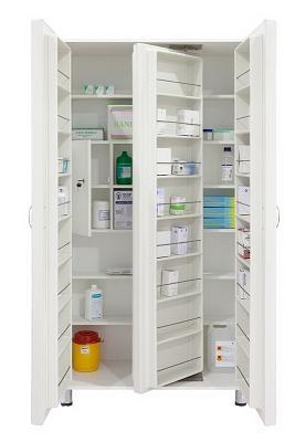 Шкафы инструментальные медицинские