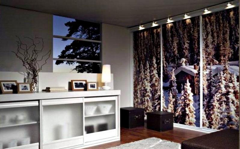 Шкафы купе с фотопечатью - модная тенденция в области дизайна
