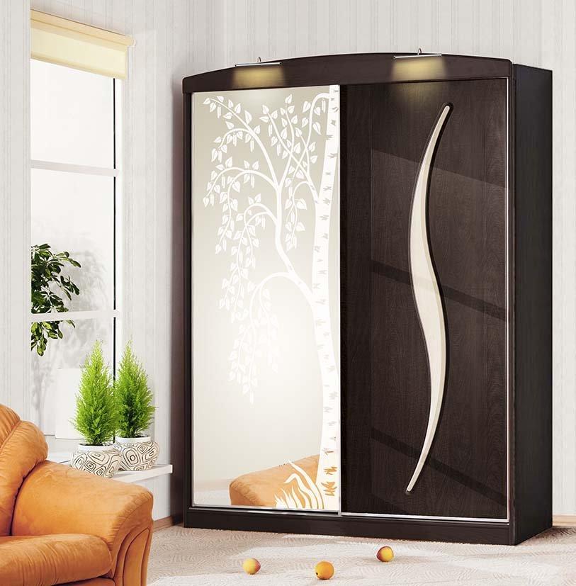 Шкаф угловой с зеркалом, плюсы и минусы, способы оформления .