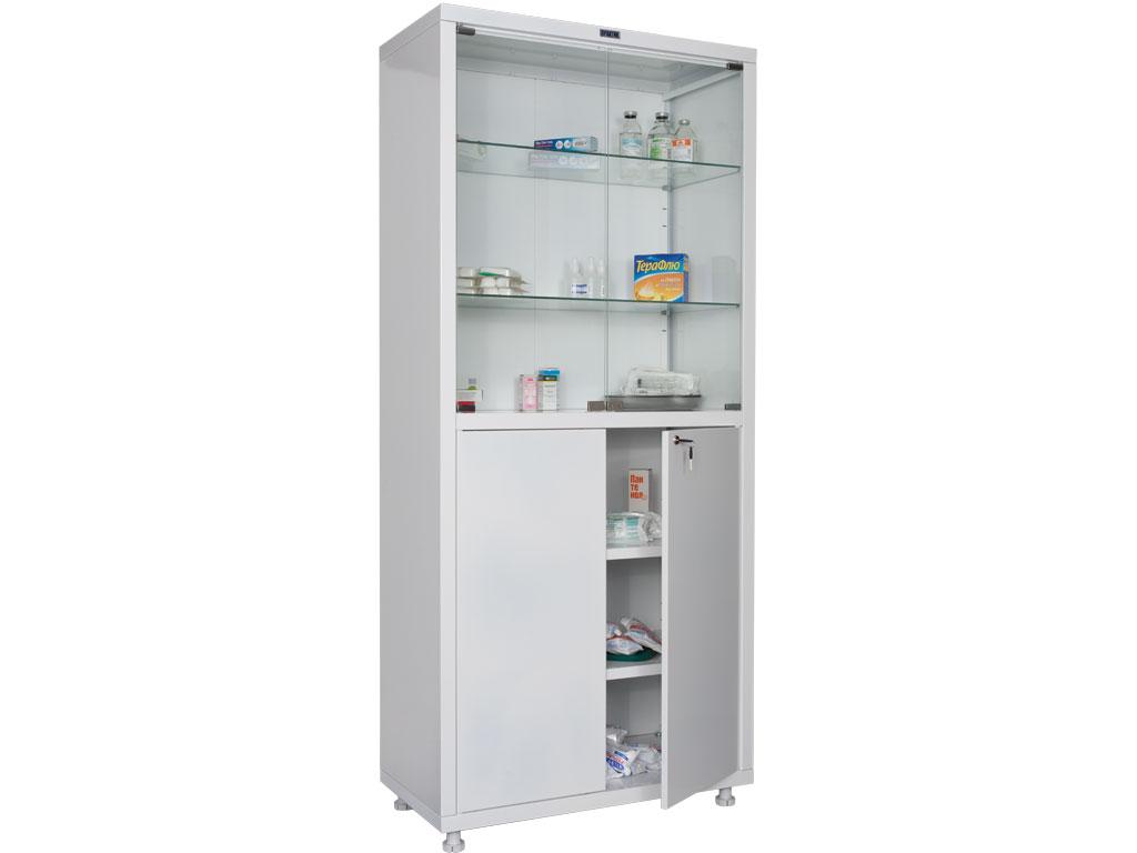 Шкафы медицинские металлические