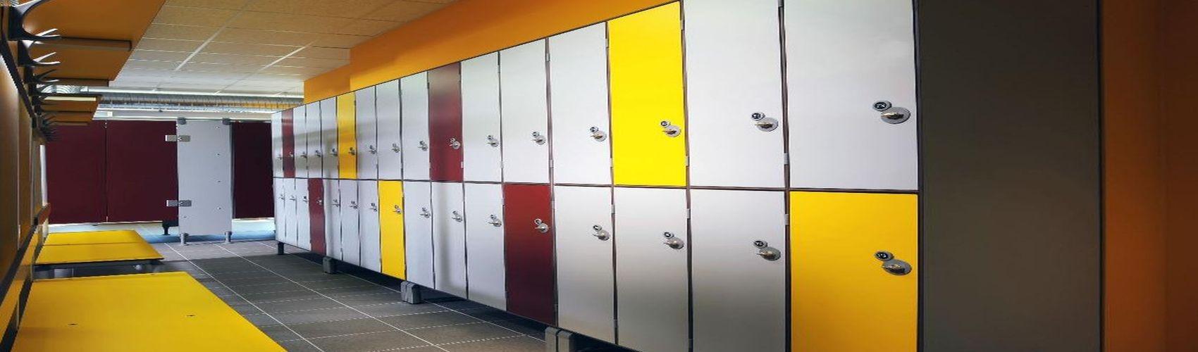 Шкафы в раздевалку