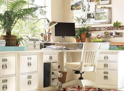 Секреты выбора мебели для домашнего офиса
