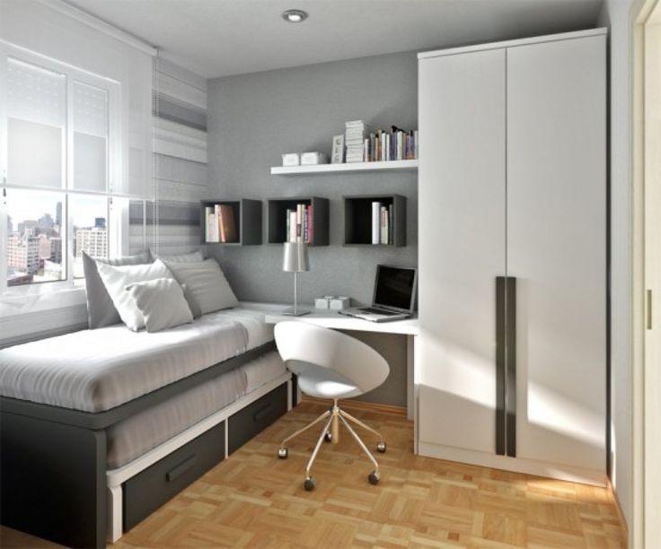 Серый тон дизайна детской комнаты