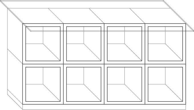 Схема модулей шкафа