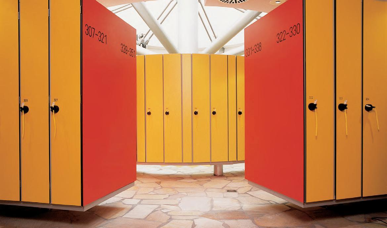 Системы шкафчиков для раздевалок