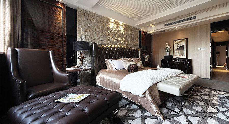 Современный американский стиль в спальне