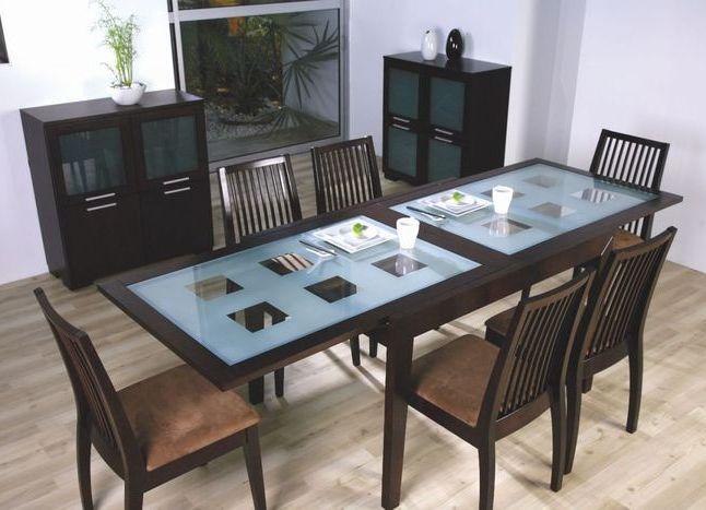 Стеклянный стол для дома