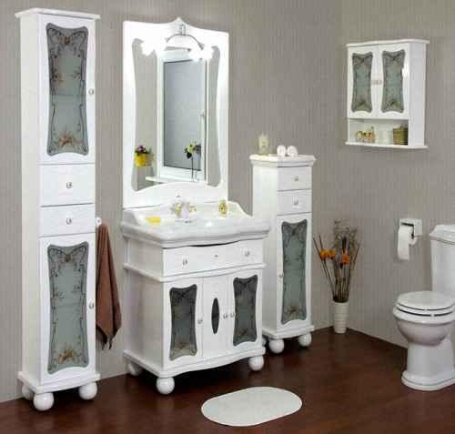 Стиль мебели для ванной комнаты