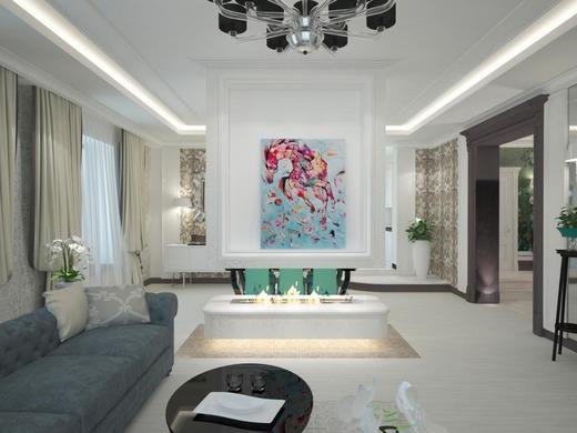 Стильный и элегантный интерьер