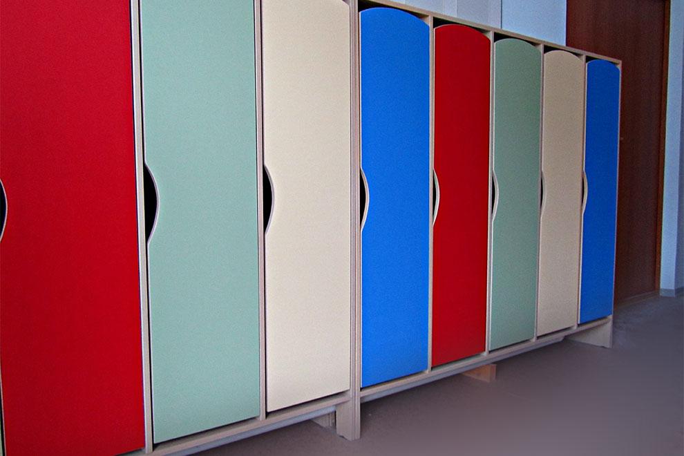 Цвет шкафчика