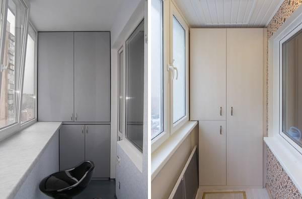 Типы шкафов для узкого помещения