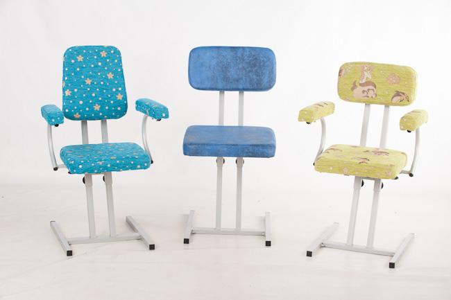 Ученический растущий стул