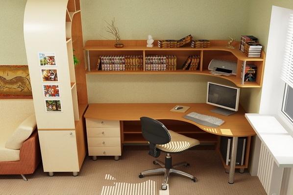 Удобная мебель для школьника для дома