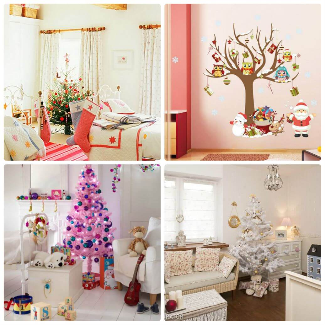 Украшение комнаты на новый год для ребенка