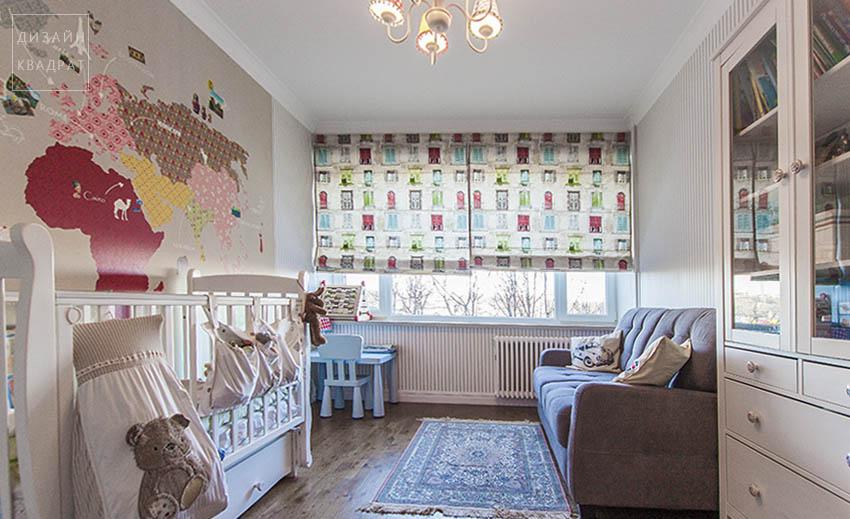 Уютная детская комната в доме