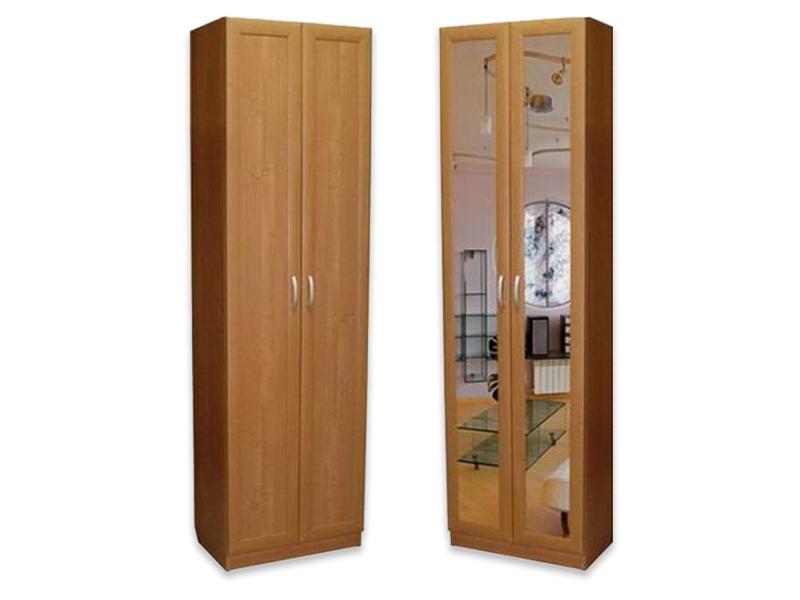 Шкаф распашной 2 х створчатый, плюсы и минусы, форма и разме.