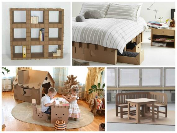 Варианты оригинальной мебели