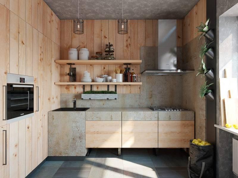 Варианты применения деревянных элементов в интерьере