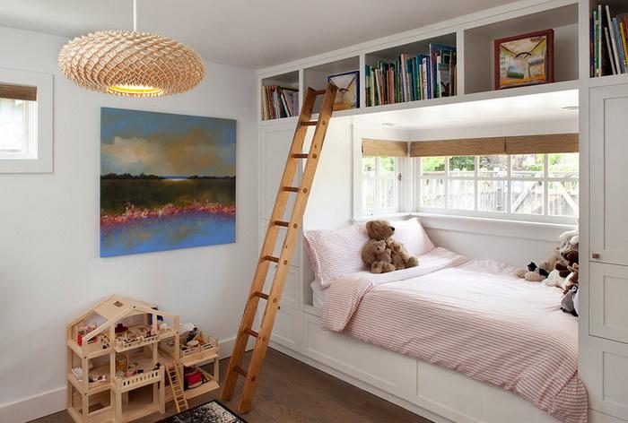 Встроенная кровать для ребенка