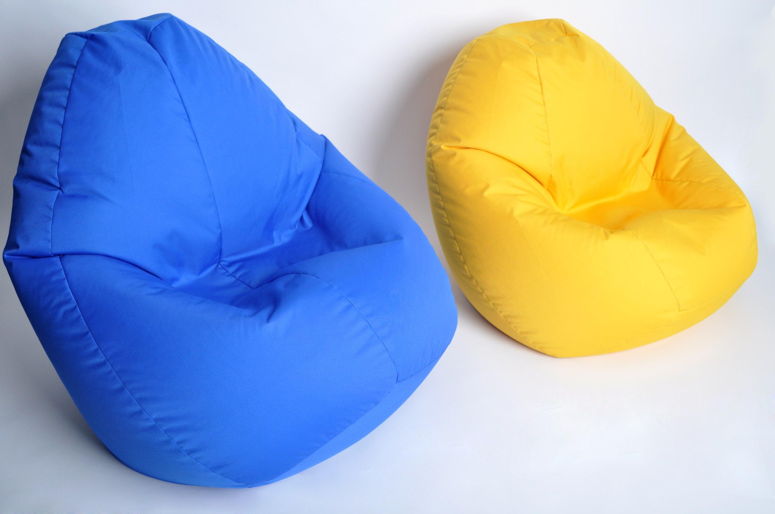 Яркие кресла-мешки