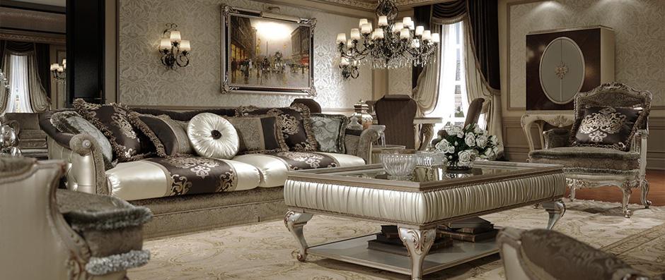 Завораживающая серая мягкая мебель