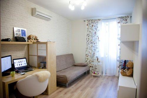 Зонирование однокомнатной квартиры на гостиную