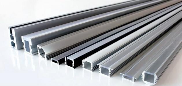 Алюминиевый профиль активно используется в мебельном производстве