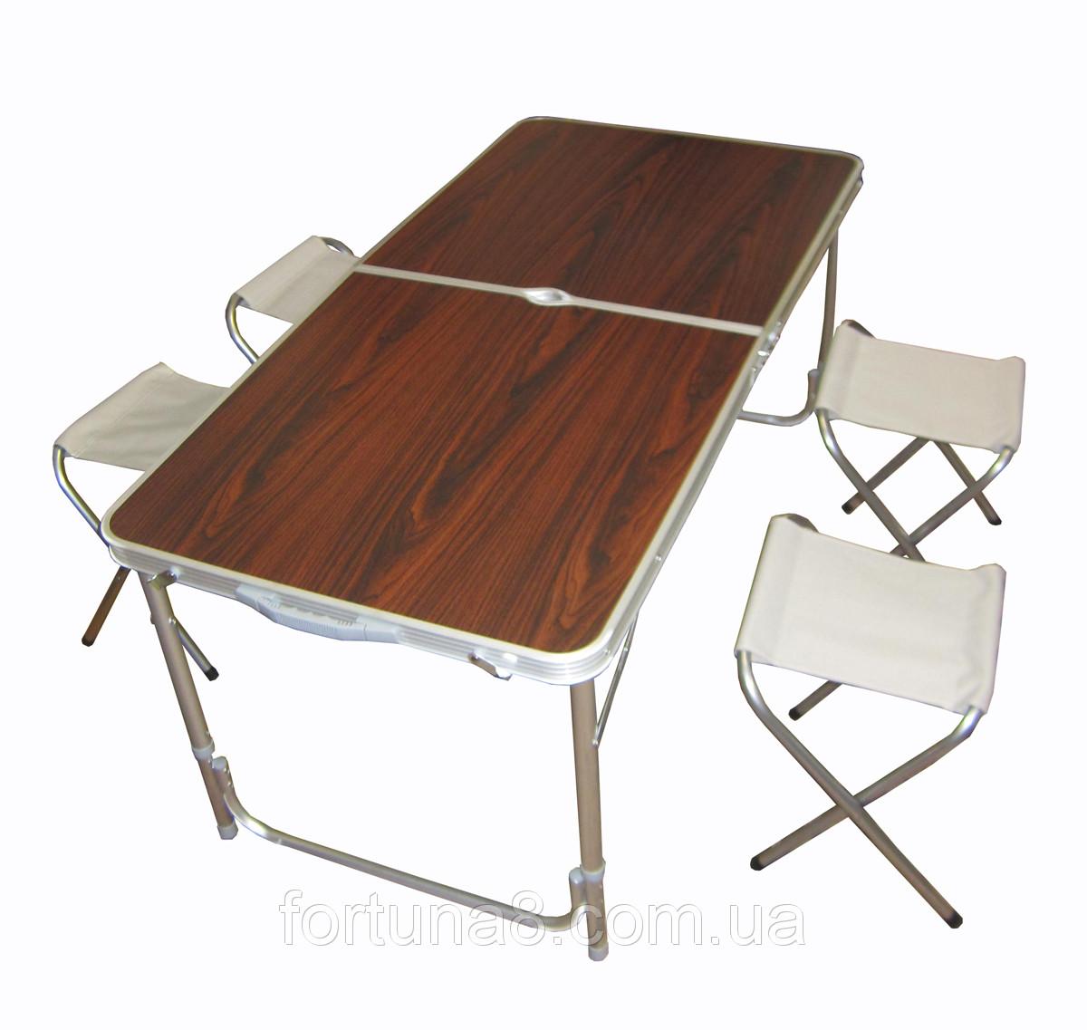 Алюминиевый современный стол