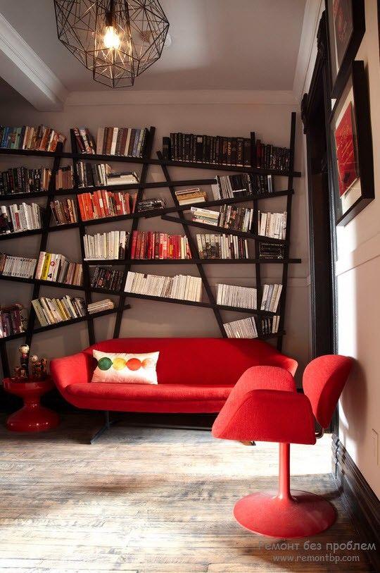 Ассиметричные элементы мебели