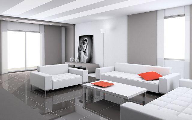 Белая мягкая мебель и ее применение