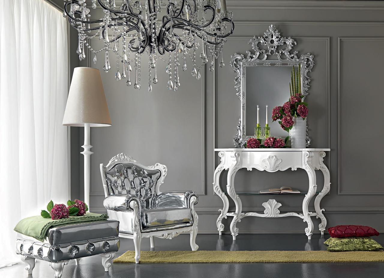 Белые коплекты мебели
