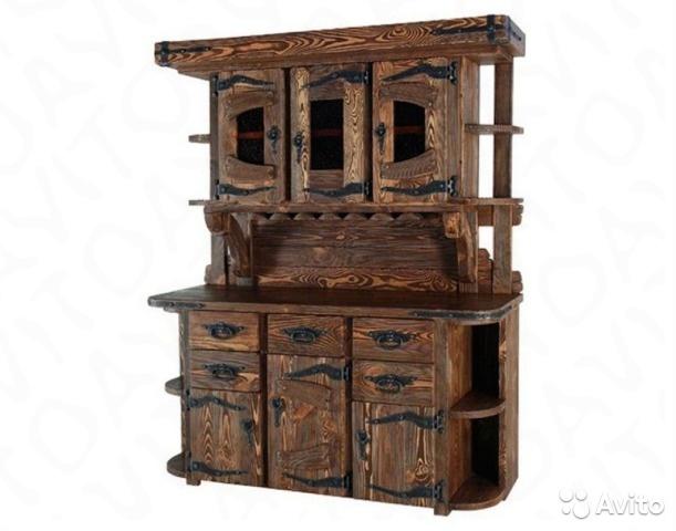 Брашированная мебель для дома