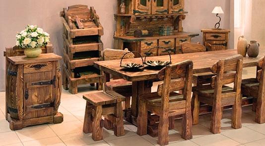 Брашированная мебель