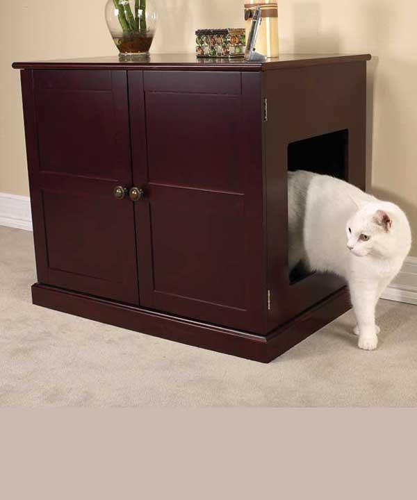 Будка для кота в квартире