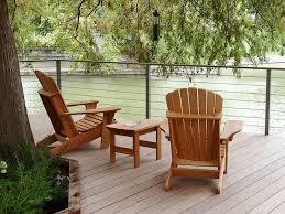 Cадовое кресло адирондак из лиственницы