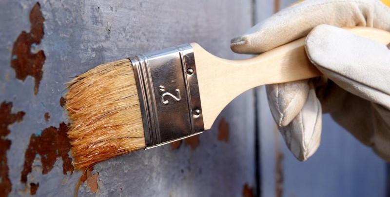Действие и особенности применения смывки для краски